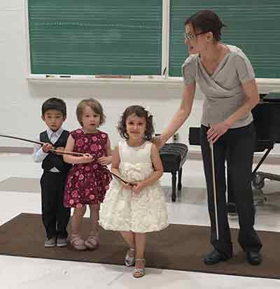 Wichita State Suzuki Violin Students
